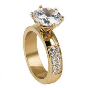 ALICE Guld Ring från Astrid & Agnes