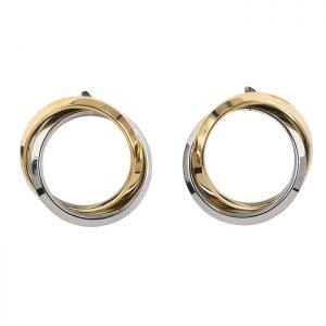 CAROLIN Örhänge Guld/stål från Astrid & Agnes