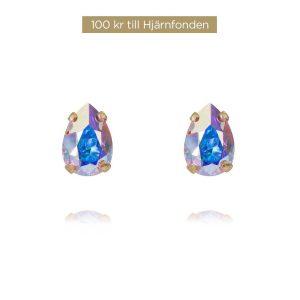 Aurora Earrings Gold Boreale från Caroline Svedbom