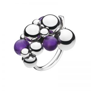 Moonlight Grapes Ring Ametist från Georg Jensen