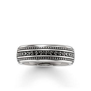 Svart Eternity Ring från Thomas Sabo