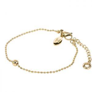 ZARA Armband Guld från Astrid & Agnes
