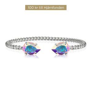 Aurora Bracelet Silver Boreale från Caroline Svedbom