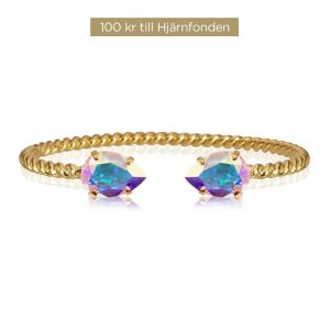 Aurora Bracelet Gold Boreale från Caroline Svedbom