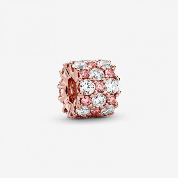 Rosa & Strålande Skimmer Berlock Rosé från Pandora