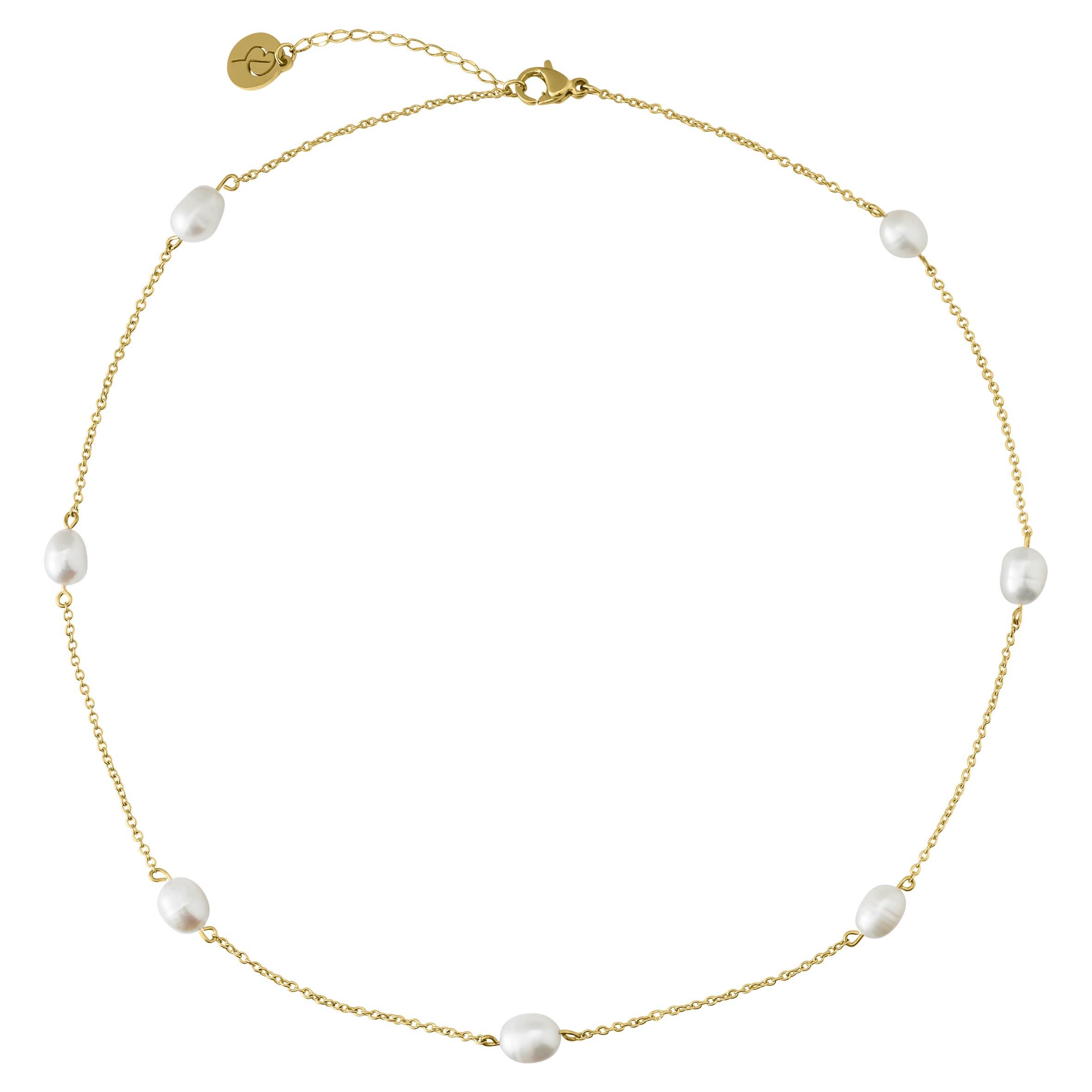 Edblad Perla Necklace Multi Gold
