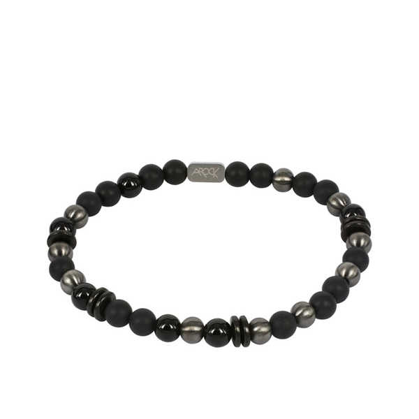AROCK EDDIE Bracelet Black/GunMetal