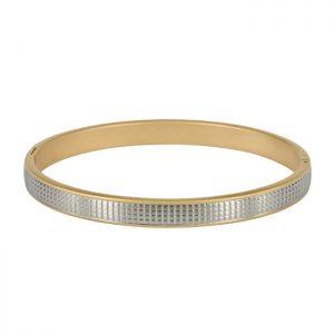 TEXAS Bangle Gold/Steel från Arock