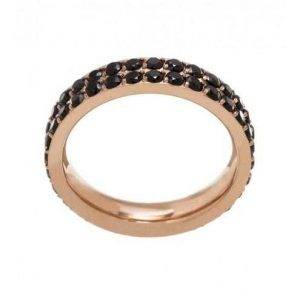 Glow Ring double Black