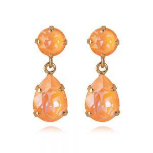 Mini Drop Earring Gold Peach Delite från Caroline Svedbom Smycken