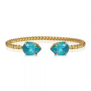 Mini Drop Bracelet Gold Laguna Delite från Caroline Svedbom Smycken