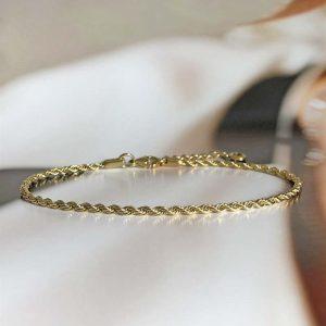 TWINNIE Vristlänk Guld från Astrid & Agnes