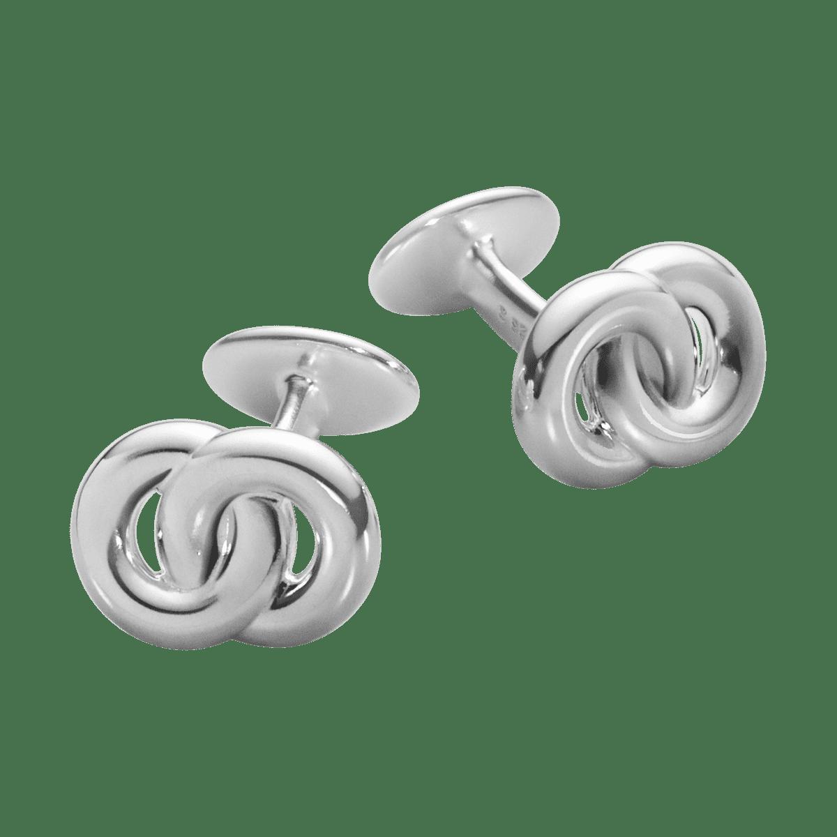 Georg Jensen Men´s Classic Manschettknappar Cirklar
