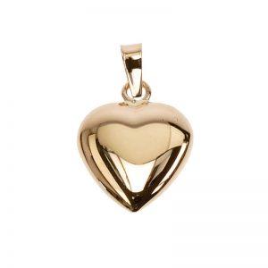 Hängsmycke 18K Guldhjärta Bitsäkert från Jewelrybox.se
