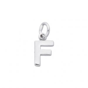 Bokstav F Silverhänge från Jewelrybox.se