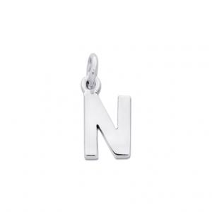 Bokstav N Silverhänge från Jewelrybox.se