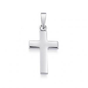 Hängsmycke Klassiskt Silverkors från Jewelrybox.se