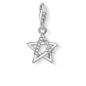 Silverstjärna med Stenar Berlock från Thomas Sabo