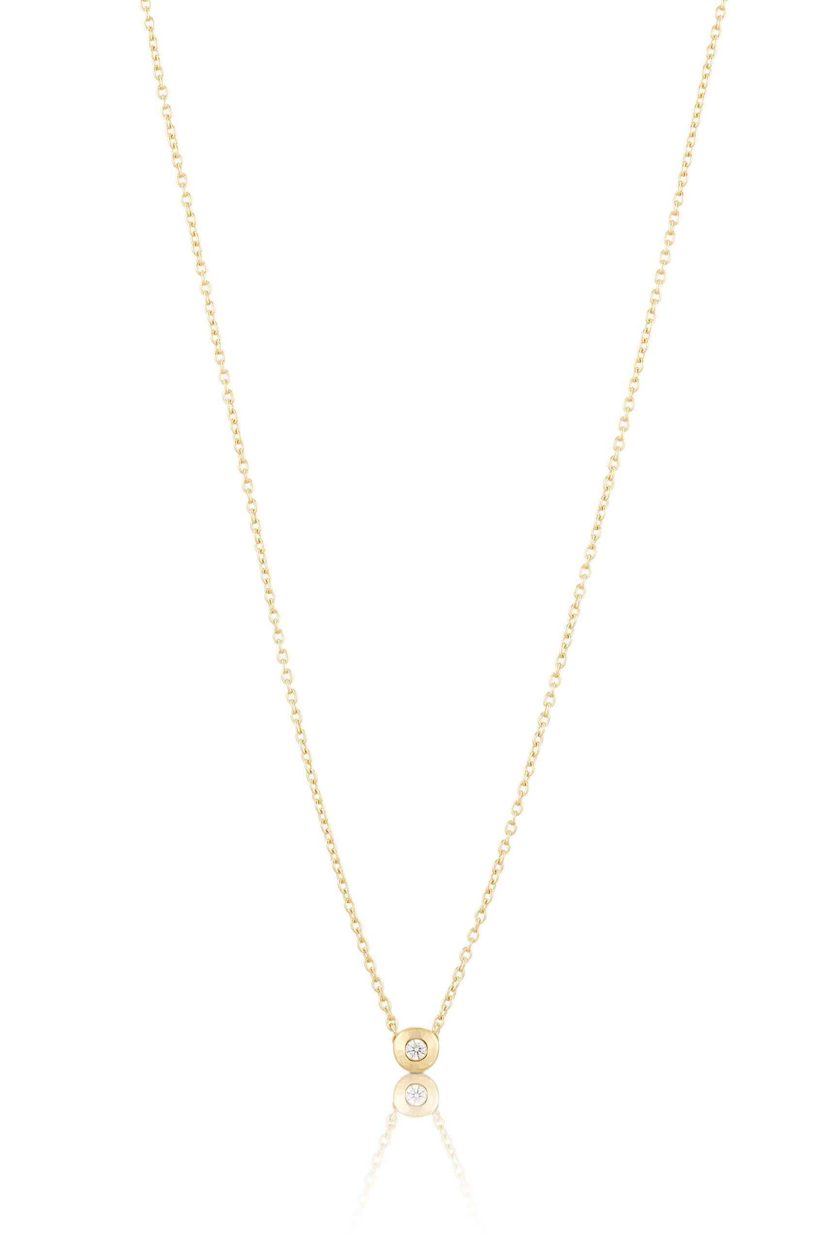 Carolina Gynning Älskad Mini Halsband Guld