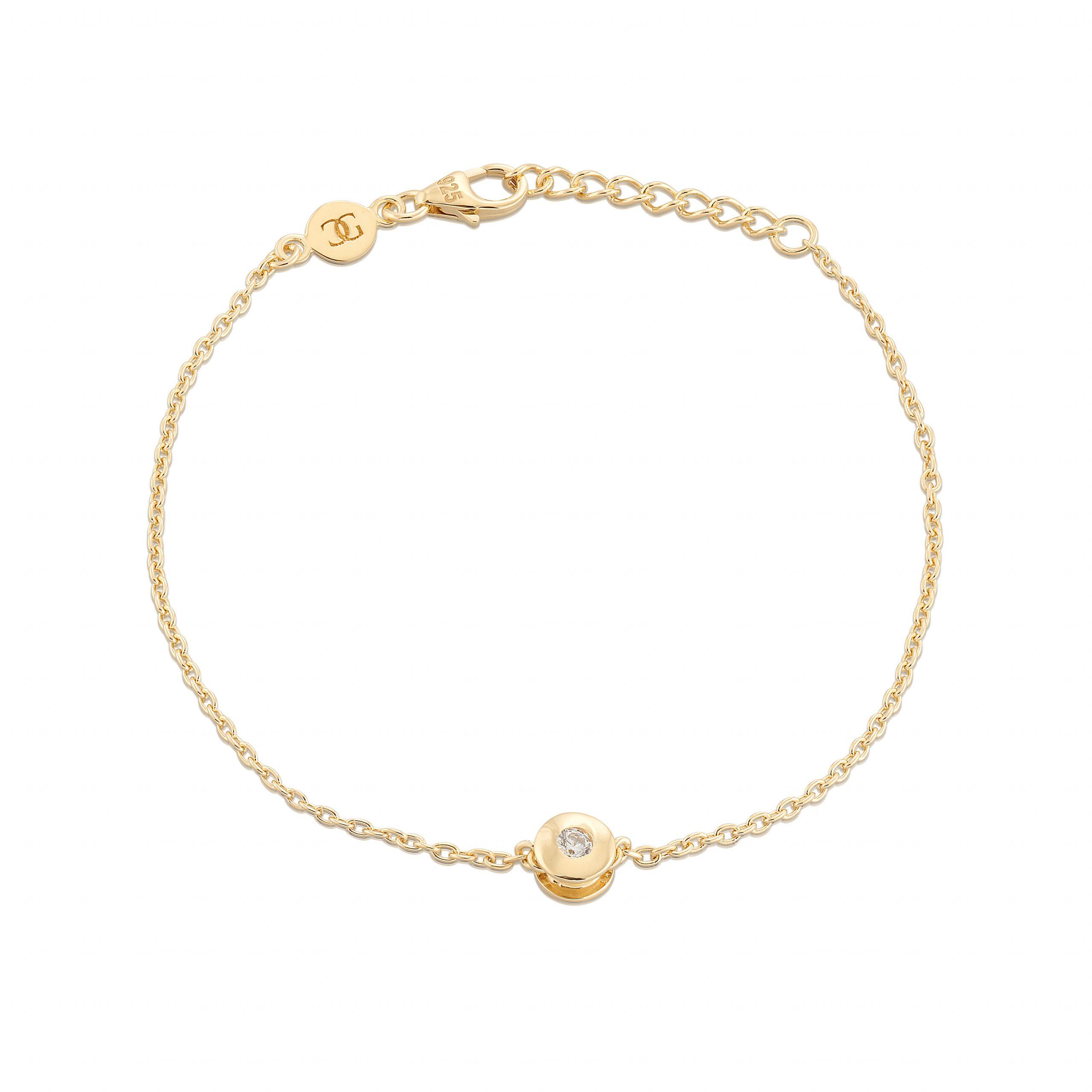 Carolina Gynning Älskad Mini Armband Guld