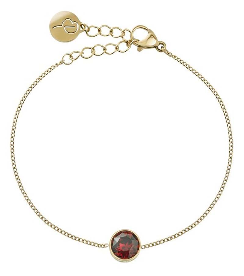 Edblad Diana Bracelet Plum Gold