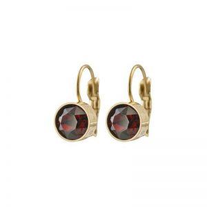 Diana Earrings Plum Gold från Edblad