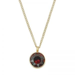 Diana Necklace Plum Gold från Edblad