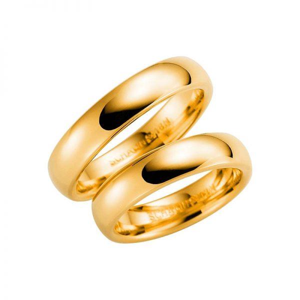 Schalins Förlovningsring 220-5 18K Guld - Jewelrybox.se