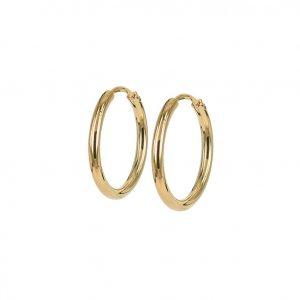 MAXI 20 mm Örhänge Guld från Astrid & Agnes