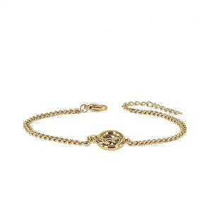 TWIST Mini Armband Guld från Astrid & Agnes