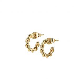 TWIST Mini Örhänge Guld från Astrid & Agnes