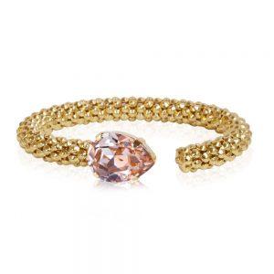 Classic Rope Bracelet Gold Vintage Rose från Caroline Svedbom
