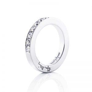 7 Stars & Signature Ring Silver från Efva Attling