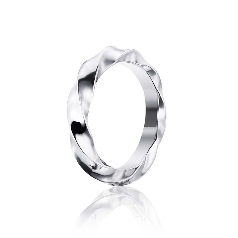 Efva Attling Viking Wide Ring Silver