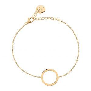 Cricle Bracelet Small Gold från Edblad