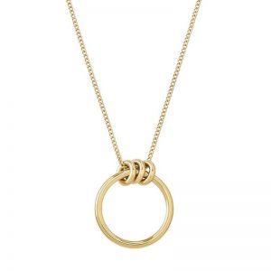 Elsie Necklace Long Gold från Edblad