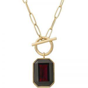 Grand Necklace Plum Gold från Edblad