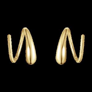 Mercy Swirl Örhängen Guld från Georg Jensen