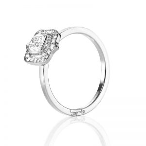 The Mrs Ring 0.50 ct Vitguld från Efva Attling