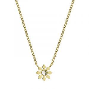 Snowflake Necklace Gold från Edblad