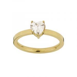 Timeless Heart Ring Gold från Edblad