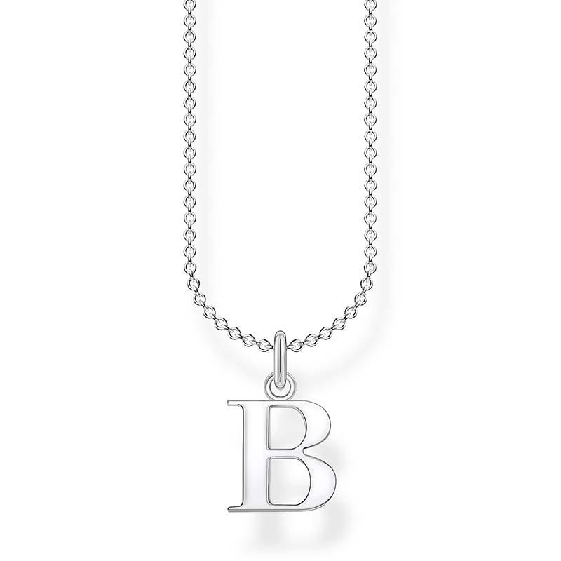 Thomas Sabo Bokstavshalsband Silver - B