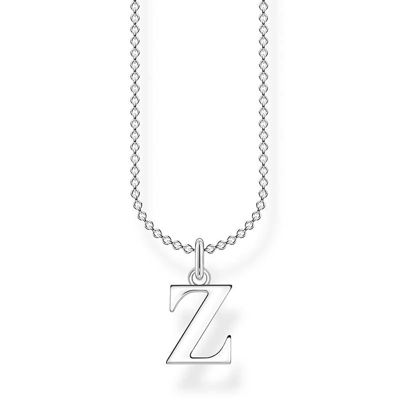 Thomas Sabo Bokstavshalsband Silver - Z