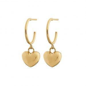 Barley Earrings Gold från Edblad