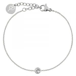 Dew Drop Bracelet Steel från Edblad