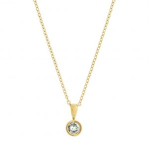 Dew Drop Necklace Gold från Edblad