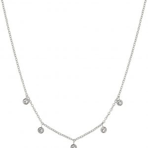 Dew Drop Necklace Multi Steel från Edblad