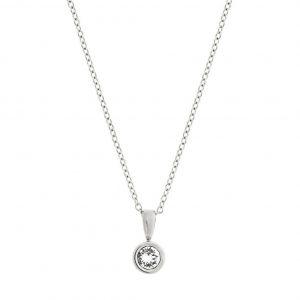 Dew Drop Necklace Steel från Edblad