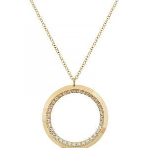 Zinnia Necklace L Gold från Edblad