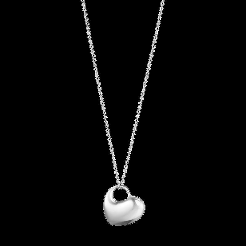 Georg Jensen Heart Pendant Silver